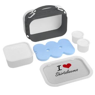 I Love Shirtsleeves Lunchbox