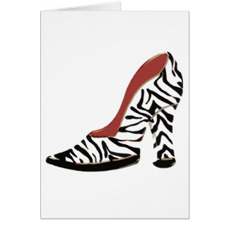 I love Shoes! ~ Greeting / Note Card