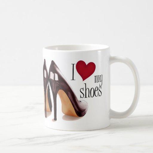 I love shoes coffee mugs