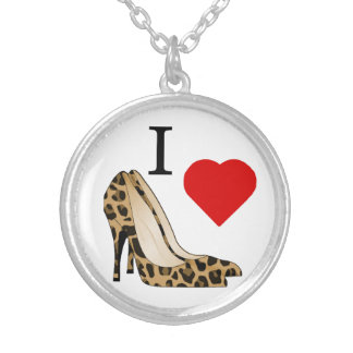 I Love Shoes Necklace