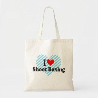 I love Shoot Boxing Canvas Bag