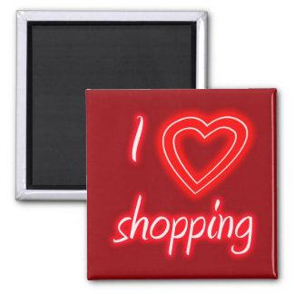 I Love Shopping Magnet