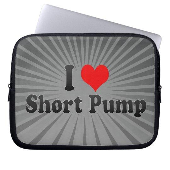 I Love Short Pump, United States Laptop Sleeve