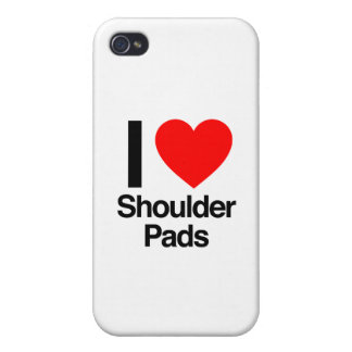 i love should pads iPhone 4/4S cases