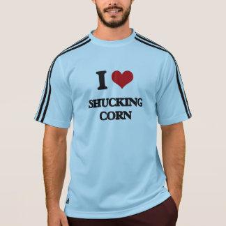 I Love Shucking Corn T-Shirt