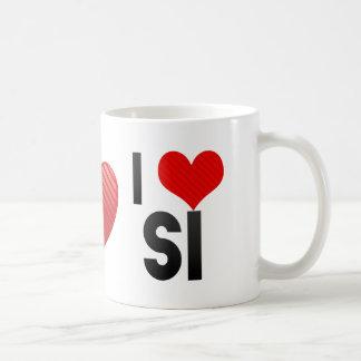 I Love SI Mug