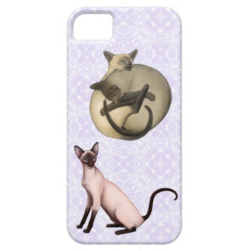 I Love Siamese Cats iPhone Case iPhone 5 Cover