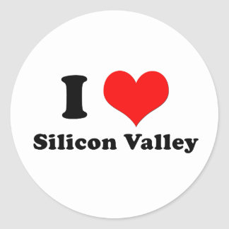 I Love Silicon Valley Sticker