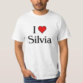 I love silvia tshirts
