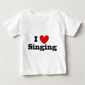 I Love Singing Baby T-Shirt