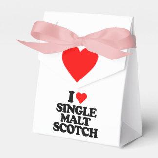 I LOVE SINGLE MALT SCOTCH PARTY FAVOR BOXES