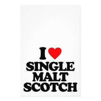 I LOVE SINGLE MALT SCOTCH FLYER