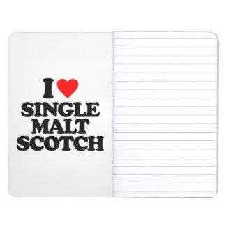 I LOVE SINGLE MALT SCOTCH JOURNALS