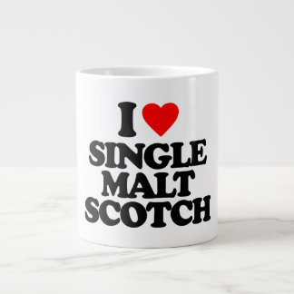 I LOVE SINGLE MALT SCOTCH JUMBO MUG