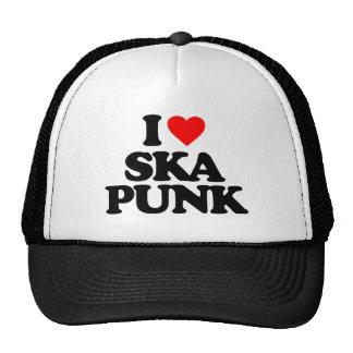I LOVE SKA PUNK CAP