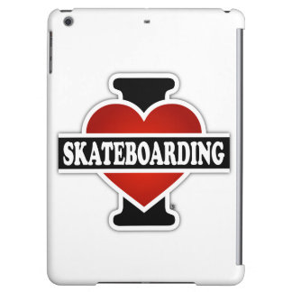 I Love Skateboarding Cover For iPad Air