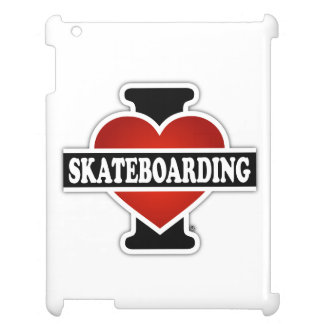 I Love Skateboarding Case For The iPad 2 3 4