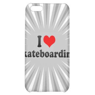 I love Skateboarding iPhone 5C Case