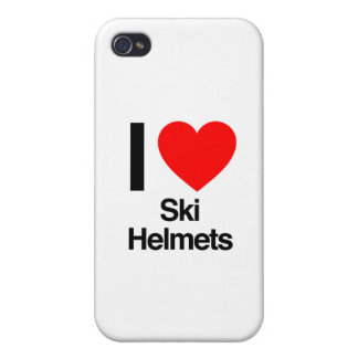 i love ski helmets case for the iPhone 4