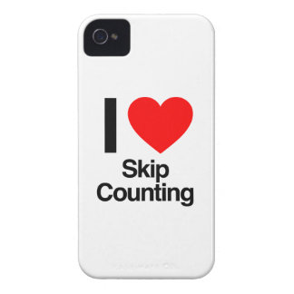 i love skip counting iPhone 4 Case-Mate cases
