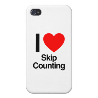 i love skip counting iPhone 4/4S cases