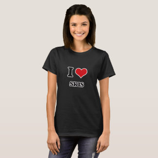 I Love Skis T-Shirt