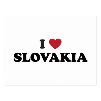 I Love Slovakia Postcard