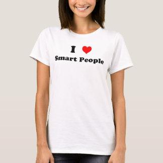 I Love Smart People T-Shirt