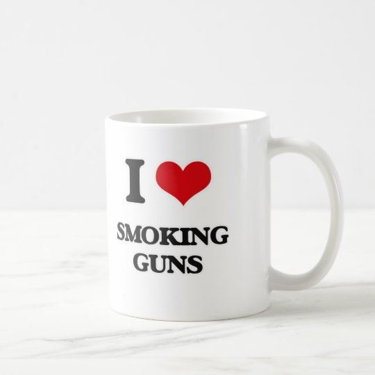 I love Smoking Guns Coffee Mug