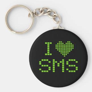 I LOVE SMS - keychain