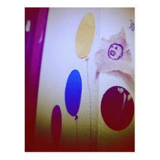 I Love Snailmail - Balloons Postcard