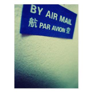 I Love Snailmail - By Air Mail Postcard