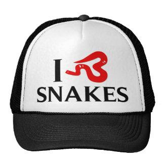 I Love Snakes Mesh Hat