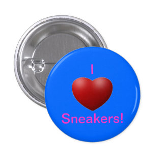 I love sneakers pins