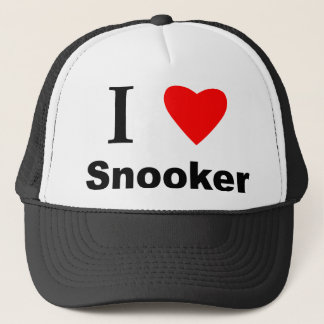 I Love Snooker Trucker Hat