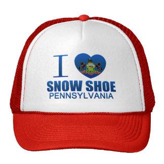 I Love Snow Shoe, PA Hat
