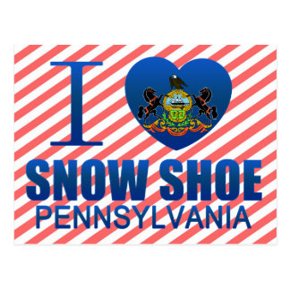 I Love Snow Shoe, PA Post Cards
