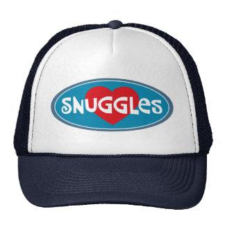 I Love Snuggles Cap