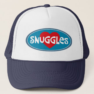 I Love Snuggles Trucker Hat