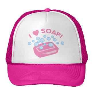 I Love Soap Cap