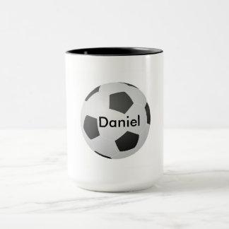 I Love Soccer Blank Customizable Mug