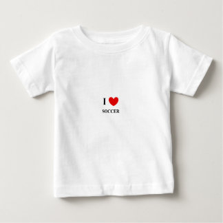 I love soccer childrens cotton tshirt