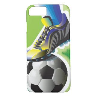 I Love Soccer iPhone 7 case