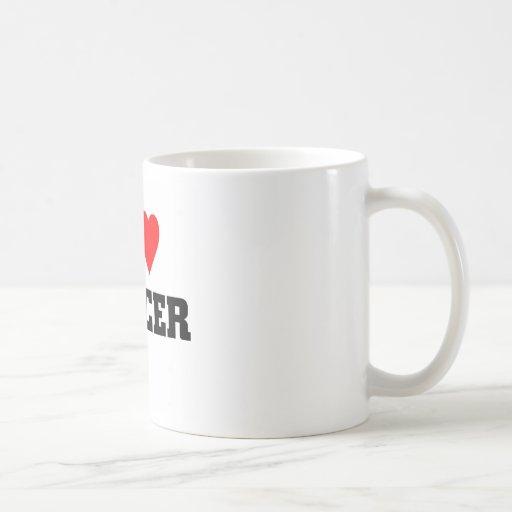 I love soccer mugs