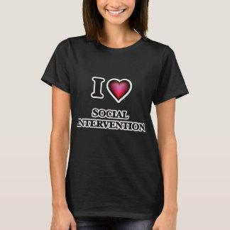 I Love Social Intervention T-Shirt