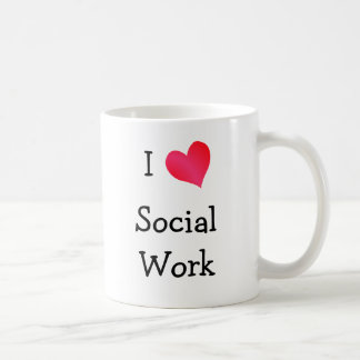 I Love Social Work Coffee Mug