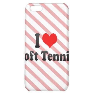 I love Soft Tennis iPhone 5C Case