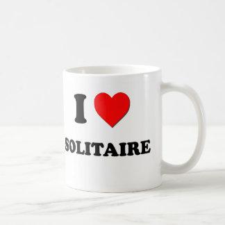 I love Solitaire Coffee Mugs