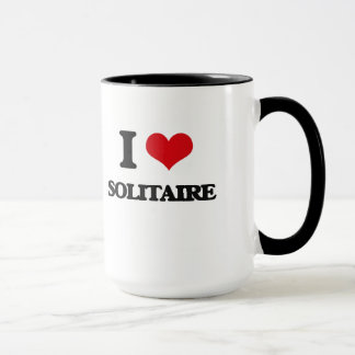 I love Solitaire Mug