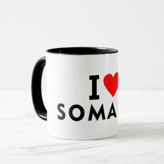 I love Somalia country like heart travel tourism Mug